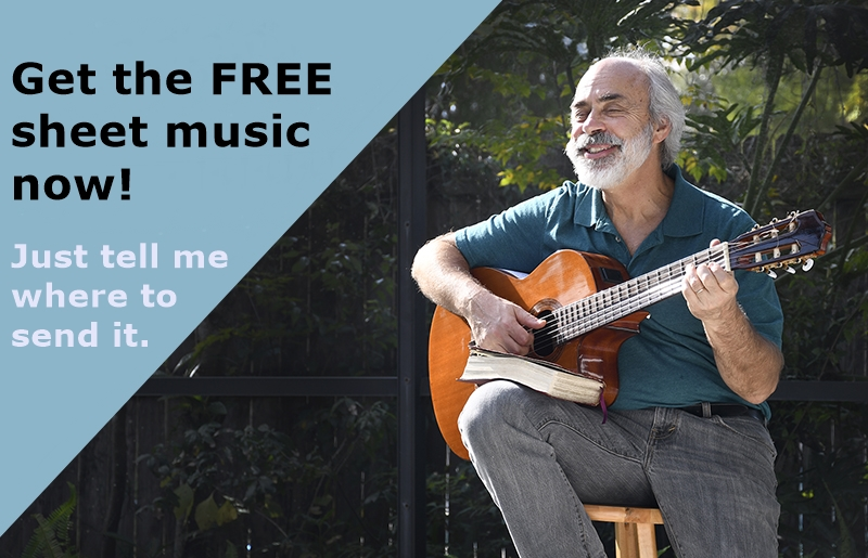 Get the FREE sheet music now! Just tell me where to send it.