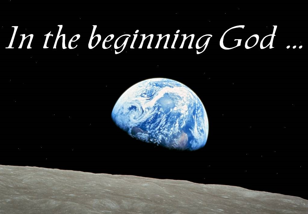 In the beginning ... God IS.